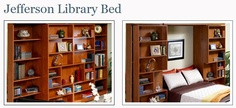 Jefferson Library Bed