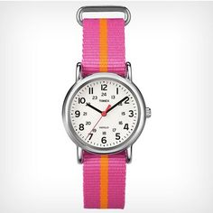 """nice Women's """"Weekender"""" Analog Display Quartz Watch With Pattern Band - For Sale Check more at http://shipperscentral.com/wp/product/womens-weekender-analog-display-quartz-watch-with-pattern-band-for-sale-3/"""