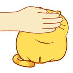 Yellow Things yellow yourself Funny Cartoon Pictures, Gif Pictures, Cute Love Gif, Cute Cat Gif, Animated Emoticons, Animated Gif, Cute Fat Cats, Gifs Lindos, Cute Bear Drawings
