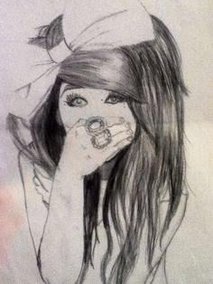 Girl Drawing - Melissa Marie Green from Millionaires