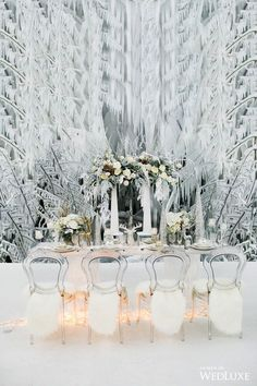 Are you getting married during one of the winter months? If so, you may be searching for inspiration for your wedding to ensure that it turns out as perfect as possible. There are some great winter wedding reception ideas to consider. These ideas could. Winter Wonderland Theme, Winter Theme, Winter Wedding Receptions, Winter Weddings, Reception Ideas, Winter Bride, Queens Wedding, Christmas Backdrops, New Years Eve Weddings