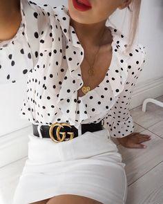 double G Gucci belt