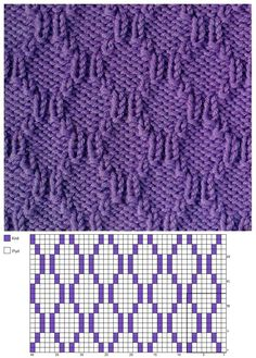 tricot 44 New Ideas Knitting Loom Patterns Baby Crochet Blankets Casino Dom Knitting Stiches, Loom Knitting Patterns, Knitting Charts, Lace Knitting, Crochet Stitches, Stitch Patterns, Knitting Tutorials, Knitting Machine, Vintage Knitting
