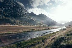 Scotland. Road