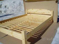 Кровать Леона-160,массив