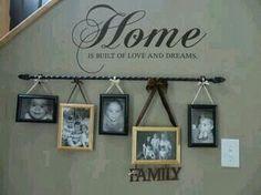Photo frame idea!