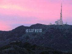 Sunset@Hollywood Hils, LA.
