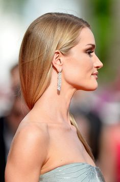"""Rosie Huntington-Whiteley attends """"The Search"""" premiere during the 67th Annual Cannes Film Festival on May 21, 2014 in Cannes, France."""