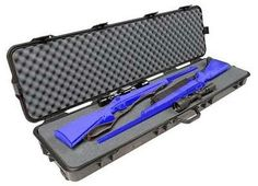 Plano's largest case in the All Weather series, the AW double scoped rifle/shotgun case with wheels is a work horse case of epic proportions, boasting a continuous Dri-Loc  seal, purge relieve valve, dual stage lockable latches and so much more.