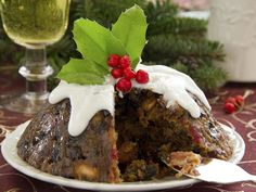 A guide to the many traditions and superstitions surrounding the Christmas pudding. Christmas Dishes, Christmas Desserts, Christmas Baking, Holiday Treats, Fun Desserts, Holiday Recipes, Irish Christmas, Scottish Recipes, Irish Recipes