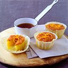 Kleine sinaasappelcake met Grand Marnier