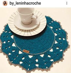Doilies, Crochet Necklace, Ideas, Crochet Fashion, Tricot Crochet, Crochet Decoration, Crochet Rugs, Table Toppers, Rugs