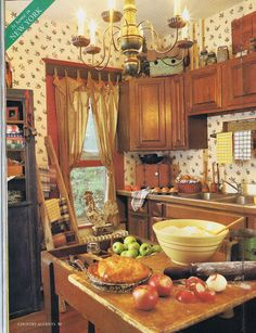 KITCHEN ~  rustic country