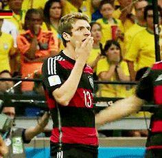 Thomas Müller #weltmeister #wm2014 #brasilien #soccer #fussball
