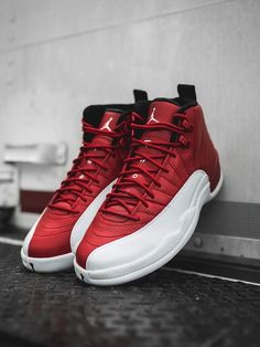 new style 57adb 58d24 Air Jordan 12 Retro Gym Red   White  sneakers  sneakernews Air Jordan Retro,