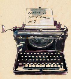 typewriter by samlovesherdog, via Flickr - on Samantha Hahn's blog Maquette!
