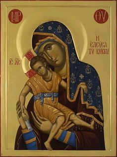 Religious Images, Religious Icons, Religious Art, Queen Of Heaven, Christian Wallpaper, Blessed Mother Mary, Byzantine Icons, Madonna And Child, Orthodox Icons