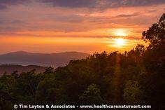 Smoky Mountain Sunset - #awe #nature #sunset