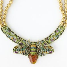 """Bee Jeweled"" Necklace ~ Heidi Daus Designs Official Site"