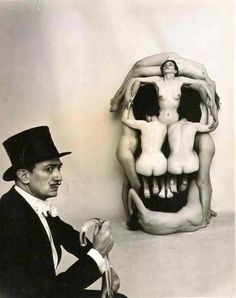 BY SALVADOR DALI  |  SKULL OPTICAL ILLUSION  |  #Dali