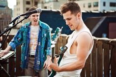 Walk the Moon- Kevin Ray is beautiful
