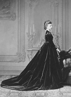 Princess Amelia of Saxe-Coburg and Gotha, Duchess Max Emmanuel of Bavaria c. 1869
