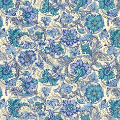 Rossi Florentine Print - Blue Grapes