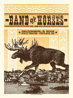 In love! /// Image of Band of Horses - Portland, ME by statusserigraph