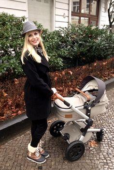 Hauptstadtmutti - Stylish Mom - Von Kopf bis Fuß und Kinderwagen auf Style eingestellt