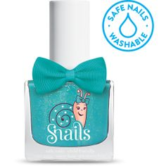 Splash Lagoon Snails Safe Nail Polish is perfect for kids - it's water based, non toxic and washes off with soap and water. Shop the range at Hello Charlie. Safe Nail Polish, Kids Nail Polish, Water Based Nail Polish, Nail Art For Kids, Cool Nail Art, Wedding Reception On A Budget, Knee Tattoo, Girls Nails, Best Nail Art Designs