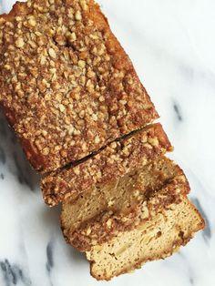 Paleo Cinnamon Apple Streusel Bread - rachLmansfield