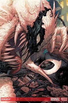 #Agent #Venom #Fan #Art. (Venom Vol.2 #7 Cover) By: Tony Moore & John Rauch. (THE * 5 * STÅR * ÅWARD * OF: * AW YEAH, IT'S MAJOR ÅWESOMENESS!!!™) ÅÅÅ+