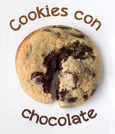 cookies con chocolate                                                                                                                                                                                 Más