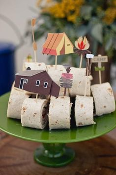 camping party birthday idea