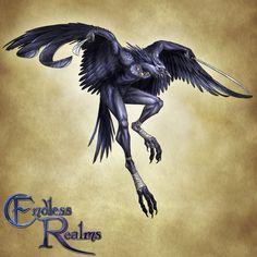 Endless Realms bestiary - Tengu by jocarra on DeviantArt