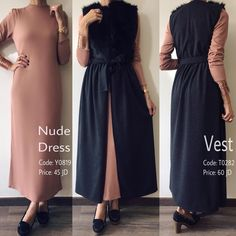 New fashion hijab outfits casual cardigans ideas Abaya Fashion, Muslim Fashion, Modest Fashion, Girl Fashion, Fashion Dresses, Hijab Dress Party, Hijab Outfit, Modest Dresses, Modest Outfits