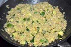 Quinoa con zucchine e pinoli 9