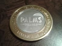 "Limited Edition,Palms Casino $10 ""Silver Strike""1950 Merc"