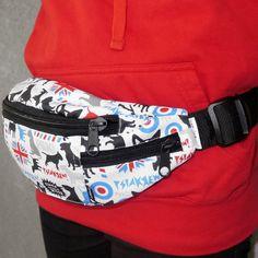 Bull Terrier, Fanny bag , fanny pack, dog walking bag , bum bag, hip bag by PSIAKREW on Etsy