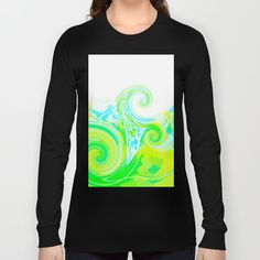 Re-Created  Tsunami THREE Long Sleeve T-shirts by Robert S. Lee - $28.00