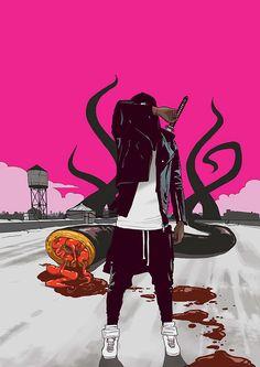 Kickass illustrations by Hungarian Graffiti artist, NikonOne.