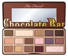 Best Too Faced Makeup Products: Too Faced Chocolate Bar Eyeshadow Palette