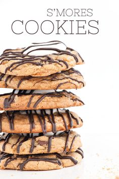 Homemade S'mores Cookies recipe. Yum. | Sprinkles for Breakfast