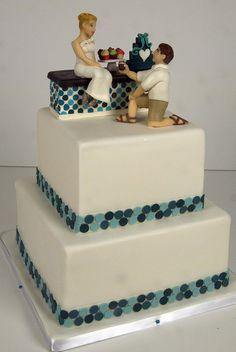 W9085 - cupcake shop toronto wedding cake by www.fortheloveofcake.ca, via Flickr