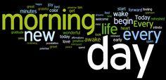 morning affirmations wordle