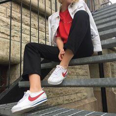 ❤️ Nike Cortez by @anniefriberg