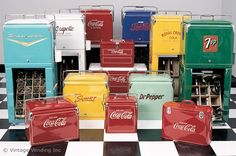 vintage coolers - Google Search
