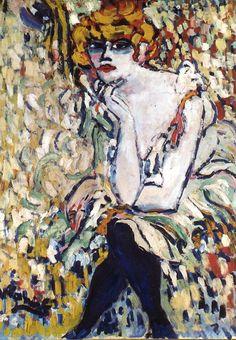 Maurice de Vlaminck (1876-1958), The Dancer at Rat Mort, 1906.