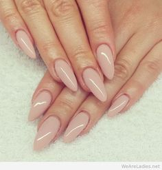 Pink nails idea photo