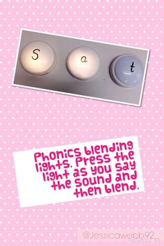 Phonics blending lights. EYFS                                                                                                                                                                                 More